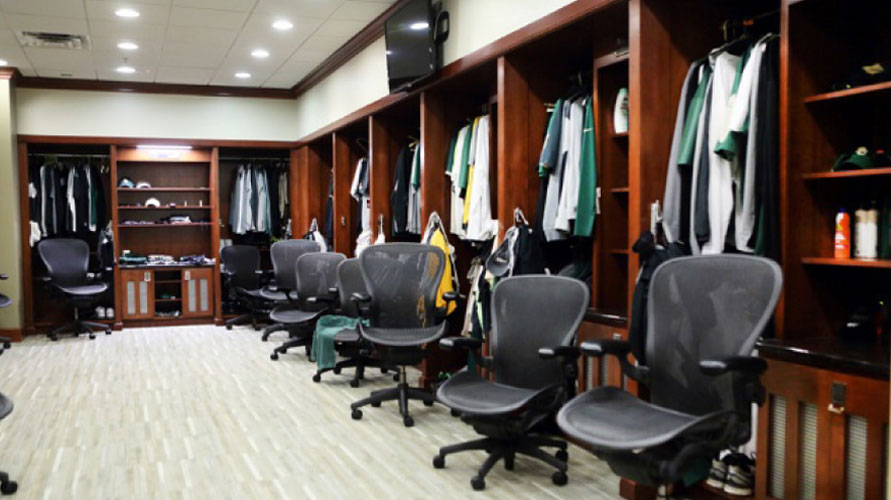Mazanec Construstion -Baylor Locker Room