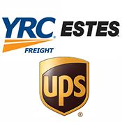 UPS YRC Estes Freight